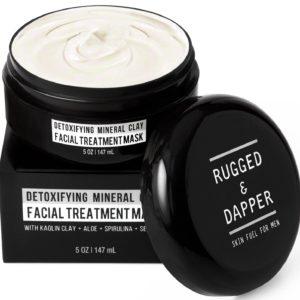 Detoxifying Mineral Clay Facial Treatment Mask For Men