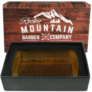 Rocky Mountain Sandalwood Beard Comb